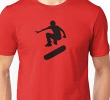 skateboard : silhouettes (SMALL) Unisex T-Shirt