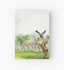 """Illustration for """" The Lion,  The Witch and  The Wardrobe"""" by CS Lewis .  Hardcover Journal"""