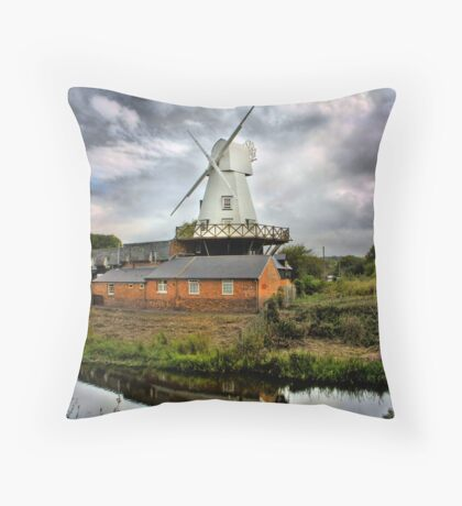 Gibbet Mill, Rye Throw Pillow