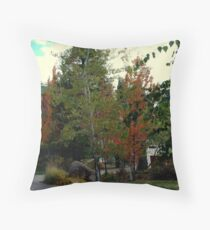 The Lodges Autumn Colors Throw Pillow