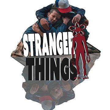 Stranger Things - Friendship  by martianart