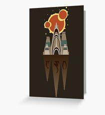 ALMSIVI Temple Greeting Card