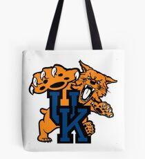 Kentucky Wildcats mens basketball Tote Bag