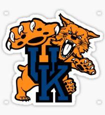 Kentucky Wildcats mens basketball Sticker