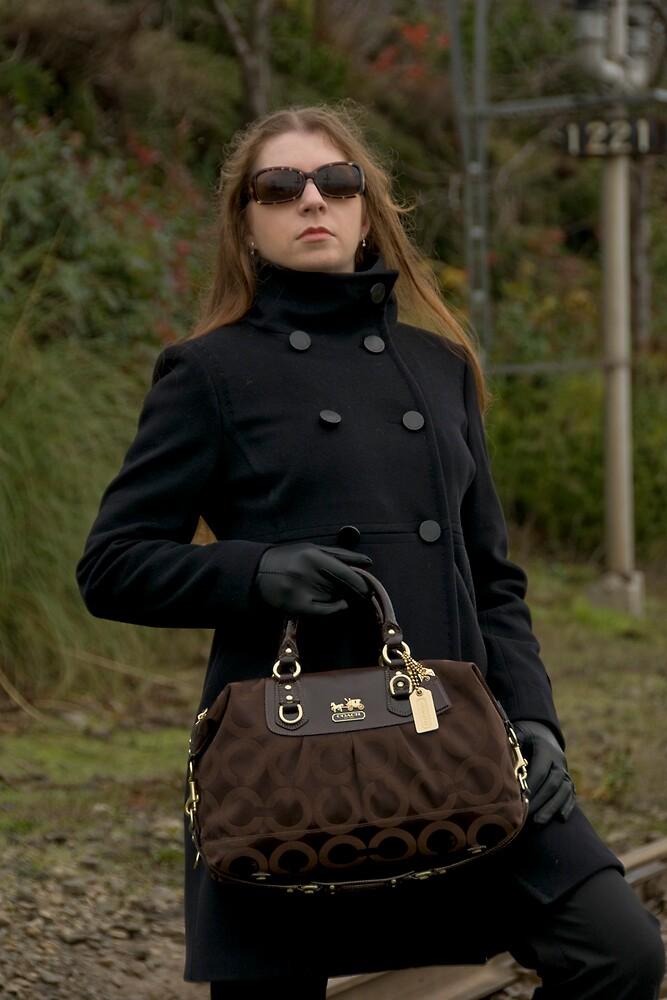 COACH handbag shoot by Brynn