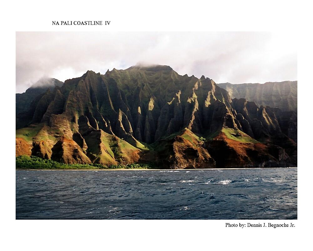 Na Pali Coastline IV by Dennis Begnoche Jr.