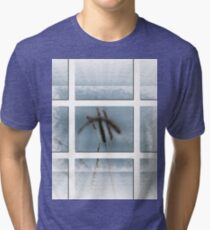 Whispy Blue-Available As Art Prints-Mugs,Cases,Duvets,T Shirts,Stickers,etc Tri-blend T-Shirt