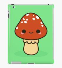Kawaii red toadstool iPad Case/Skin