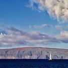 Sailing Past Kahoolawe by Elizabeth  Lilja