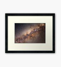 The Milky Way Galaxy Framed Print