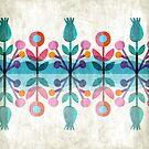 Blue river flowers by MajaVeselinovic