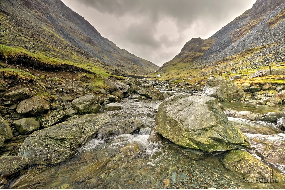 Lakeland Stream  by Rob Hawkins
