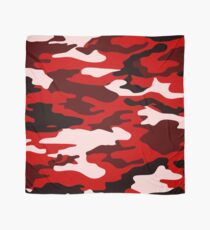 Red Camo Scarf