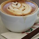 Americano Coffee with Tulip Design by taiche
