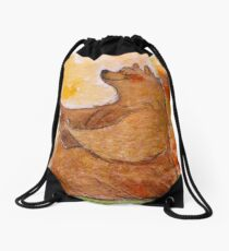 Happy place  Drawstring Bag