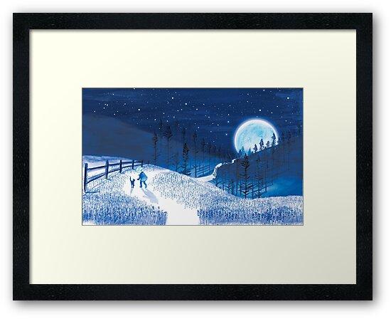 Boy and Blue Moon  by Ashley Crowley
