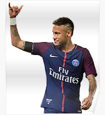 Neymar PSG Poster