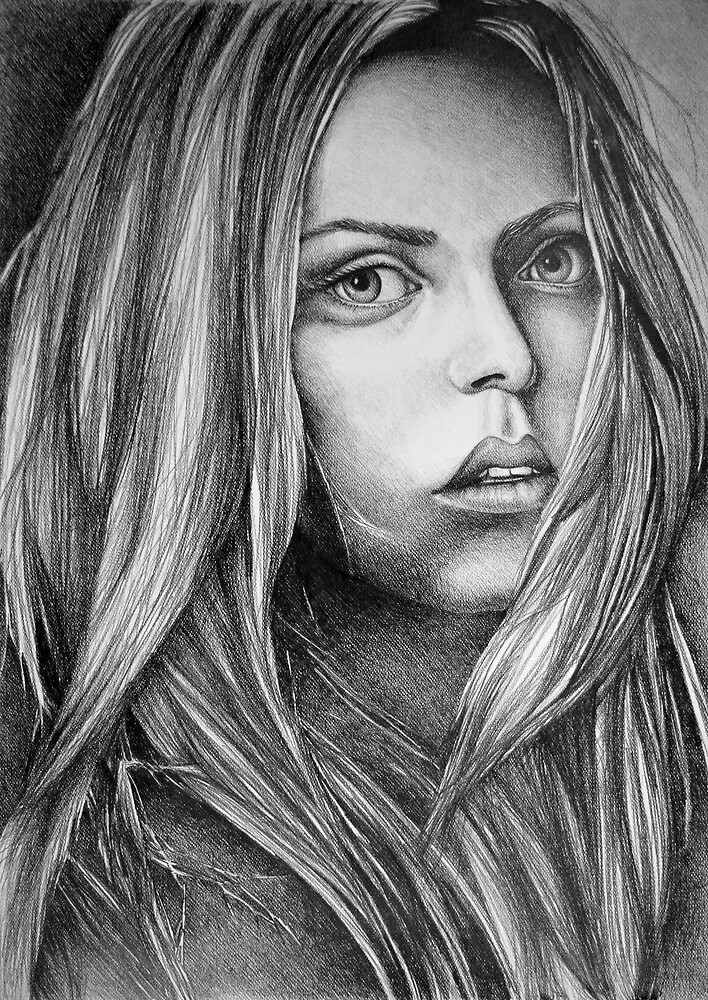 What about now, 2017, 50-70cm, graphite crayon on paper by oanaunciuleanu