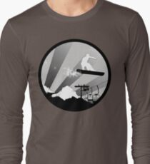 snowboard : powder trail T-Shirt