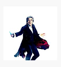 Doctor Who The 12th Doctor Photographic Print