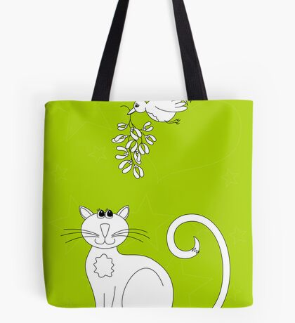 Love at Christmas to colour in Tote Bag