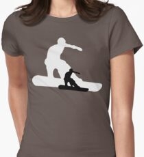 snowboard : shadowstance Womens Fitted T-Shirt