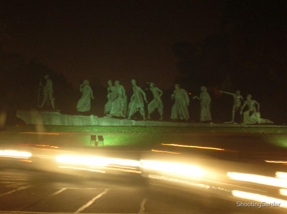 Gandhi in City Lights by ShootingSardar