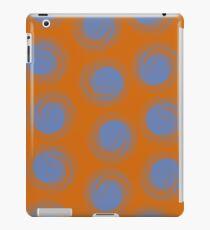 Polka dot seamless pattern with abstract circles.  iPad Case/Skin