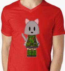 Aliens Cat Hicks - Stay Frosty Men's V-Neck T-Shirt
