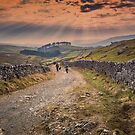 Sunset over Horton Moor by RamblingTog