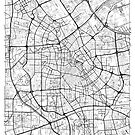 Tianjin Karte Minimal von HubertRoguski