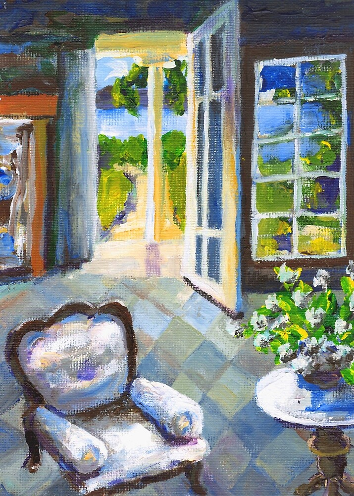 White Chair Nantucket by Randy Sprout