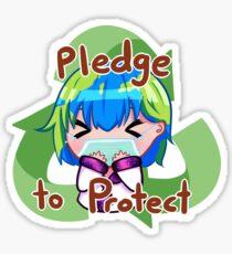Earth-chan Sticker