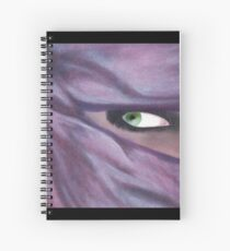 veiled Spiral Notebook