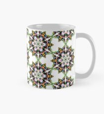 colorfull psychedelic geometric design Mug