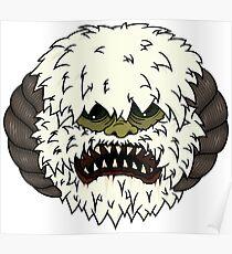 Angry Wampa Poster