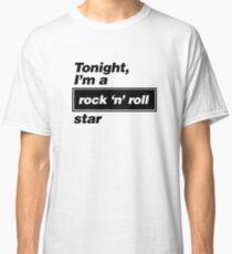 Oasis - Rock 'n' Roll Star lyrics  Classic T-Shirt