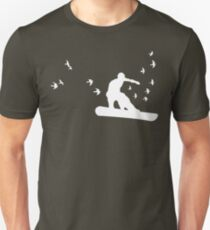 board with birds T-Shirt