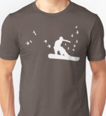 board with birds Unisex T-Shirt