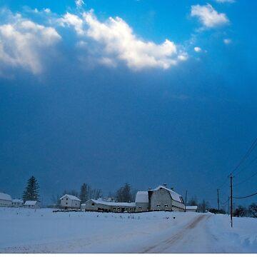 Alasa Farm in Winter by wolftinz