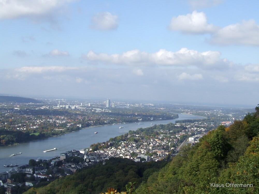 View to Bonn by Klaus Offermann
