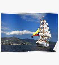Tall Ships 1 Poster