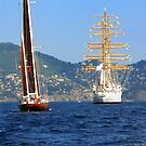 Tall ships 2 by Monica Di Carlo