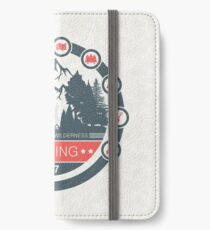 Camping iPhone Wallet/Case/Skin