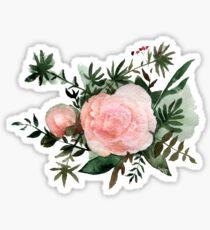 Peony flower Sticker