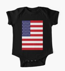 USA Flag, American Style, Stars And Stripes, Super Resolution Kids Clothes