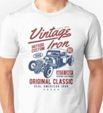 Hot Rod Car Retro Vintage Unisex T-Shirt