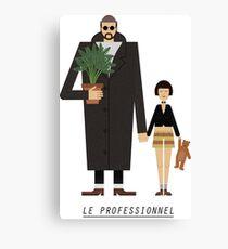 Léon the professional Canvas Print