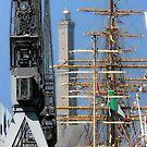 Tall Ships 10 by Monica Di Carlo