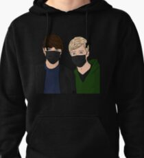 SAM AND COLBY DRAWING Pullover Hoodie